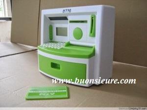 ATM mini kitty Với chất liệu ABS rất bền có thể trải qua sự biến dạng nhựa lớn mà không nứt hoặc vỡ, tính đàn hồi cao, chịu va đập và ma sát.