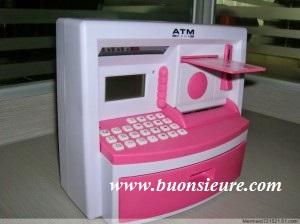 Với quà tặng ống heo ATM mini các bậc phụ huynh có thể tập cho con em mình ko tiêu xài phung phí lại tiếp cận được với công nghệ hiện đại.