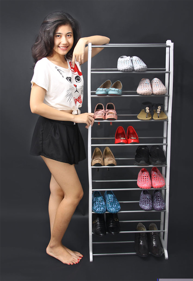 Kệ Để Giầy 10 Tầng Amazing Shoes Rack cao cấp.
