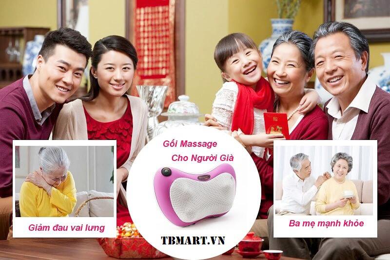 Gối Massage Hồng Ngoại Magic Hàn Quốc Mã PL-819 - Món Quà Ý Nghĩa Nhất Dành Tặng Ba Mẹ.