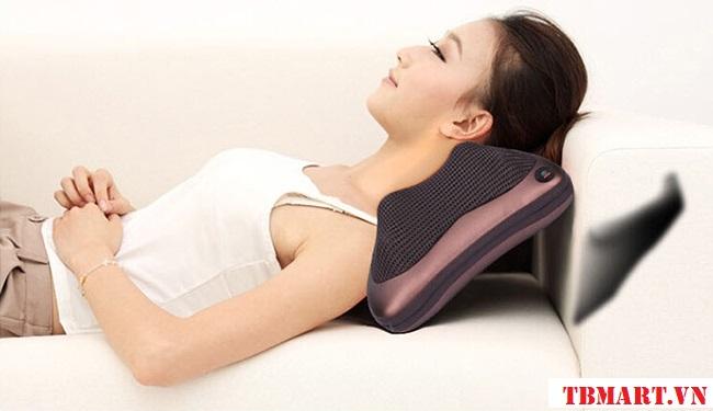 Gối Massage Vai Gáy Hồng Ngoại Magic PL 819 Hàn Quốc - Sức Khỏe Được Chăm Sóc Chu Toàn Hơn.