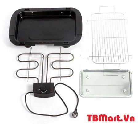 Hình Ảnh Bếp Nướng Không Khói Electric Barbecue Grill của TB MART