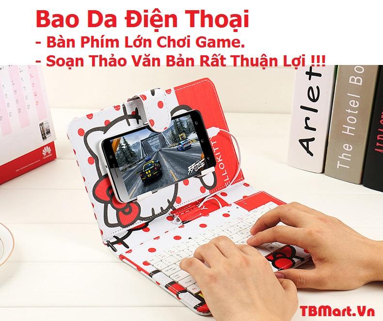 Hình Ảnh Bao Da Bàn Phím Điện Thoại của TB MART.