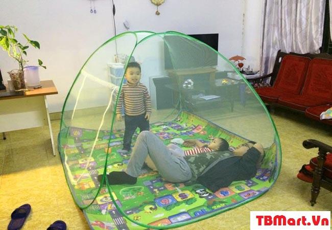 (Màn Chụp Cho Người Lớn – Mùng Chụp Tự Bung của TB MART )