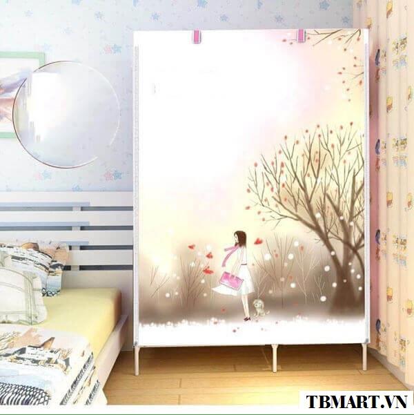 Tủ Vải Quần Áo 3D - Điểm Nhấn cho ngôi nhà yêu của bạn !