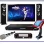 Mic Kèm Loa 3 Trong 1 - Kết nối Bluetooth với điện thoại, dễ dàng hát karaoke mọi lúc mọi nơi.