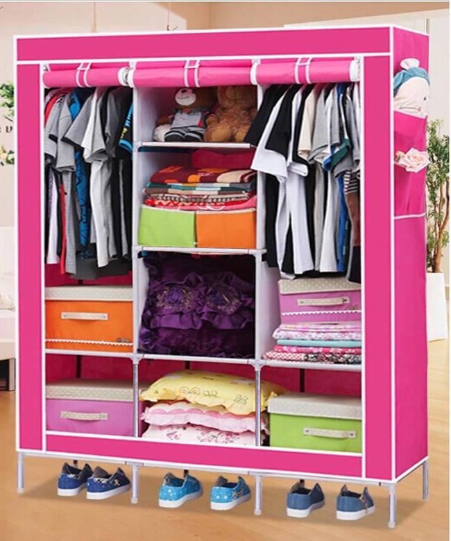 Tủ Vải Ba Buồng - Sự lựa chọn tối ưu cho căn phòng thêm ngăn nắp !