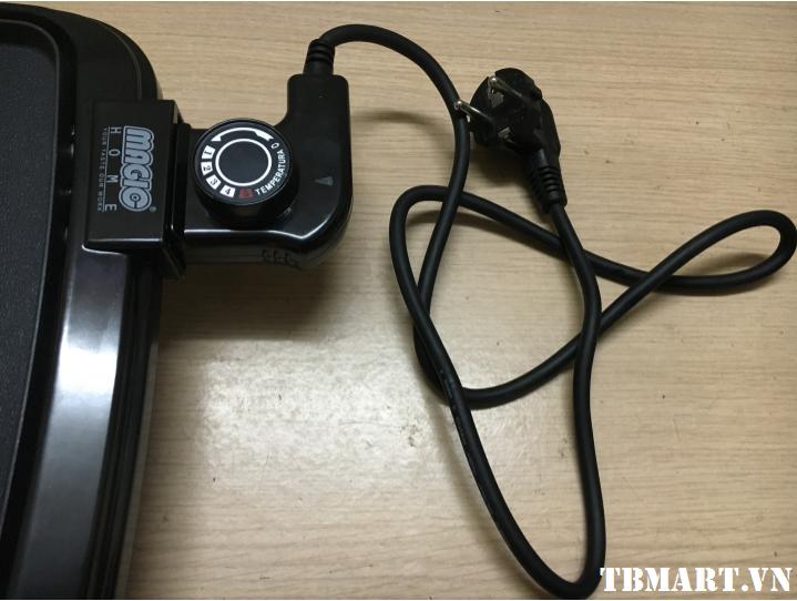 Bếp Nướng Không Khói Hàn Quốc Magic Home MH 1169 - Sử dụng Adapter có 5 mức điều chỉnh.