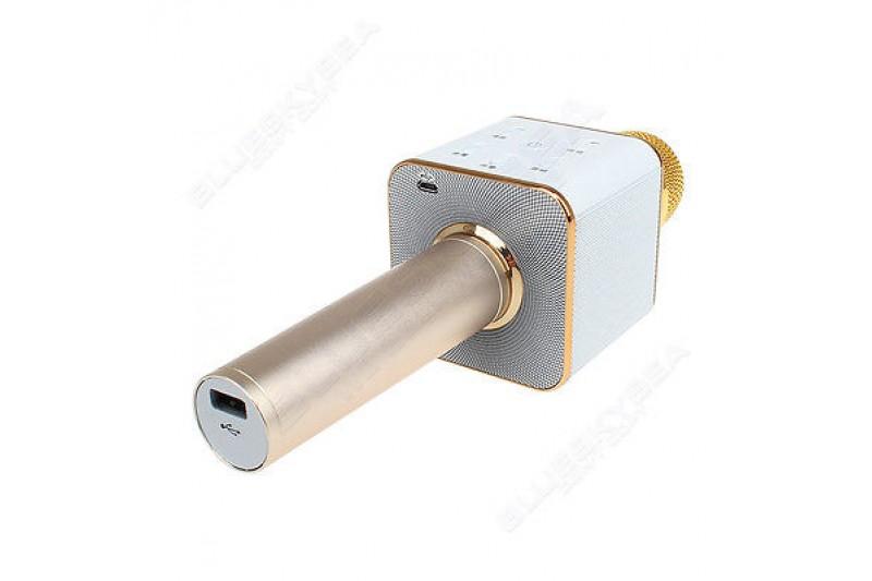 Mic Kèm Loa Q7 bản Cao Cấp - Có Cổng USB Đa Năng.