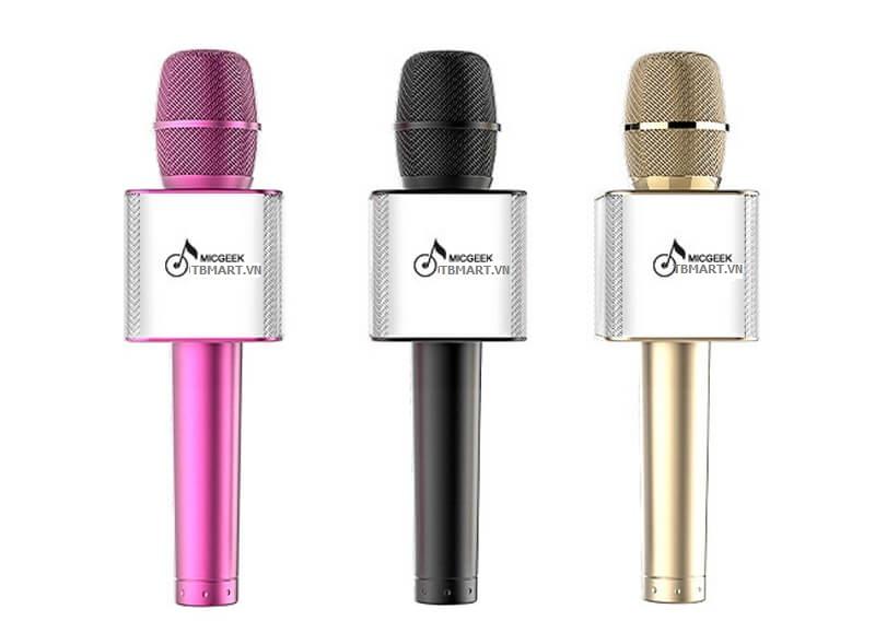 Mic Bluetooth Q9 có 3 màu cho bạn lựa chọn.