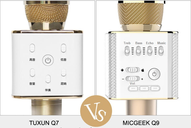 So Sánh Mic Q9 vs Q7
