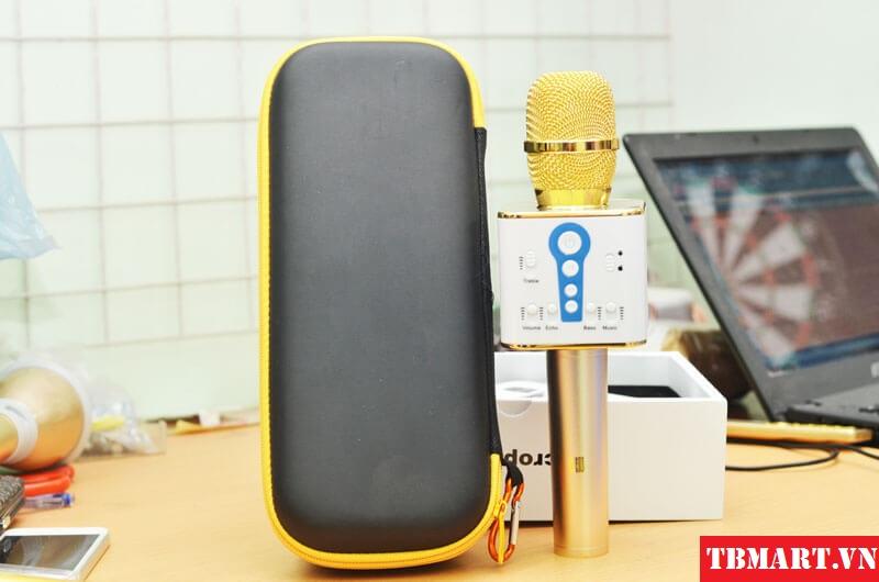 Mic Kèm Loa Karaoke 3 Trong 1 Bluetooth