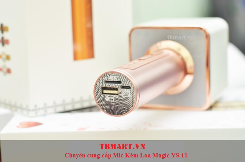 Mic Kèm Loa Magic YS 10 Hát Karaoke Bluetooth.