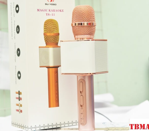 Micro hát karaoke kèm loa YS 11