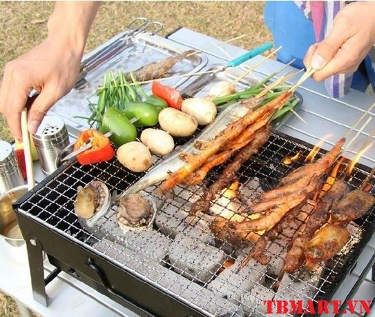 Bếp Nướng Than Hoa Portable Stainless - Sử dụng công nghệ sản xuất tiên tiến nhất trên thế giới.