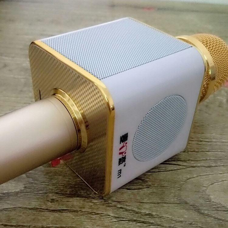Mic kèm loa M1 - 3 Loa tích hợp trên mic