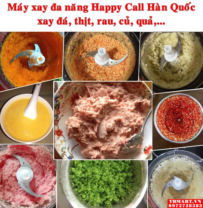 Máy Xay thịt cá đa năng Happy Call Hàn Quốc.