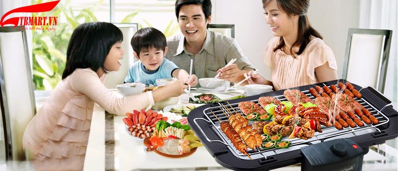 Bếp Nướng Không Khói Hami Cook Hàn Quốc.