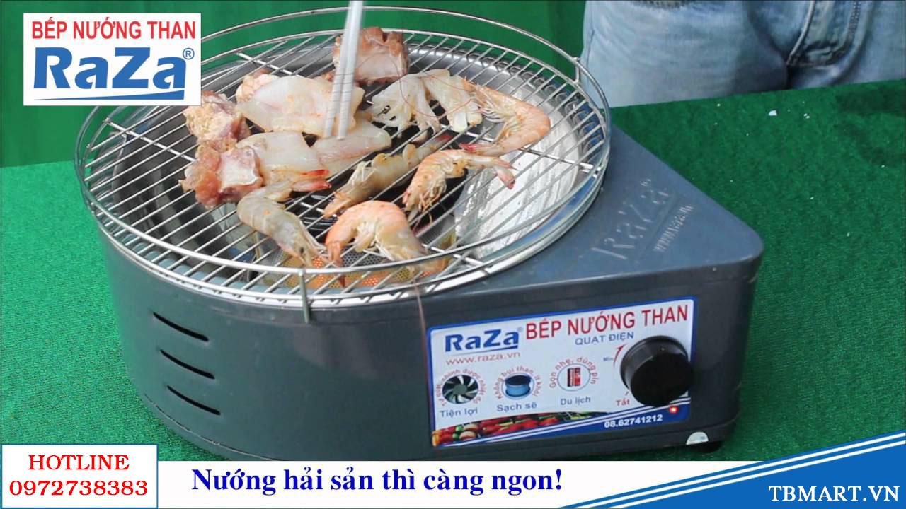 Bếp Nướng Than Hoa thế hệ mới Raza - hàng Việt Nam chất lượng cao.