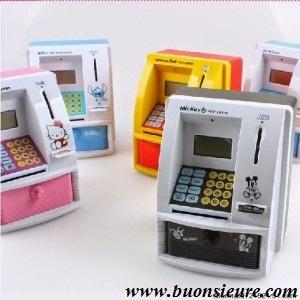 Máy ATM mini giá rẻ rút tiền tại nhà. Sản phẩm hữu hiệu nhất, thay thế Heo Đất truyền thống.