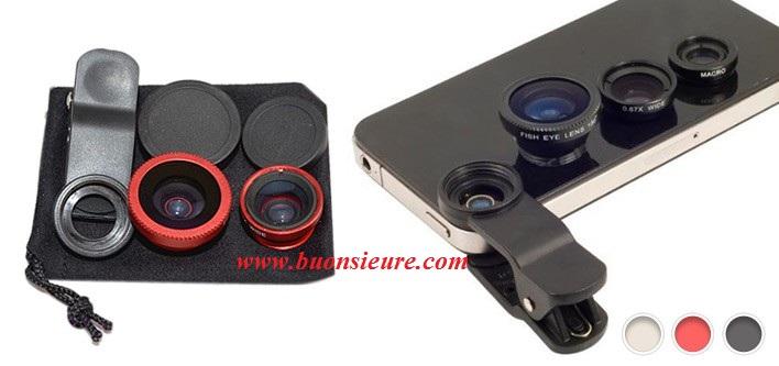 Tích hợp 2 ống kính trong 1: Wide cho góc chụp rộng, khi bỏ vòng góc rộng ra, bạn sẽ có một ống kính Macro hoàn hảo để chụp những bức ảnh đặc tả.