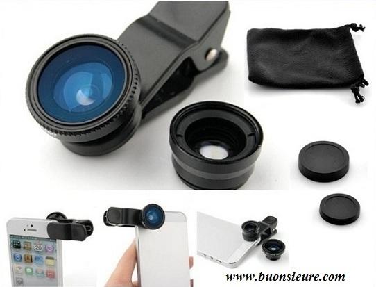 Lens chụp hình dành cho các dòng điện thoại được thiết kế với kiểu dáng nhỏ gọn, thao tác sử dụng đơn giản.