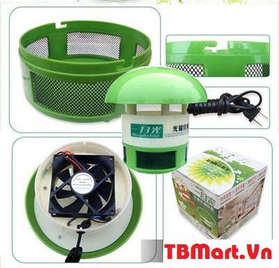 Đèn Bắt Muỗi Hình Nấm Cao Cấp Chính Hãng của TB MART.