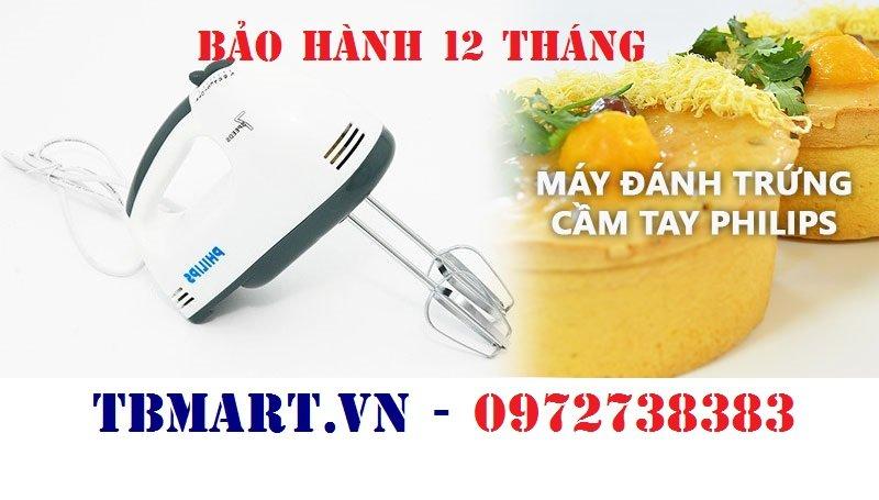 Máy Đánh Trứng Philips Cầm Tay Mini 6610 Chính Hãng.