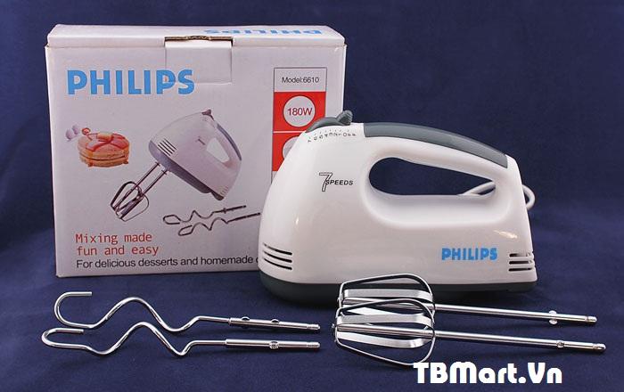 Hình Ảnh Máy Đánh Trứng Cầm Tay Philips 6610 Chính Hãng, Mới nhất của TB MART