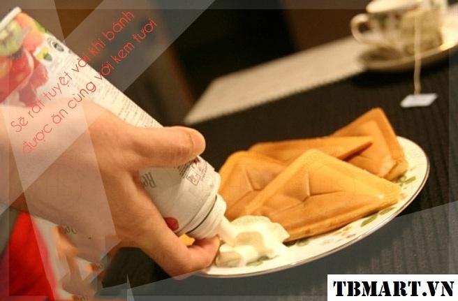 Máy Nướng Bánh Nikai - Nướng Bánh Mì và làm Sandwich dễ dàng !