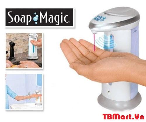 Máy Lấy Nước Rửa Tay Cảm Ứng Soap Magic của TB MART.