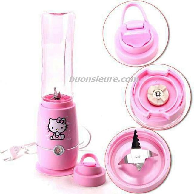 Hình Ảnh Máy Xay Sinh Tố Mini Hello Kitty