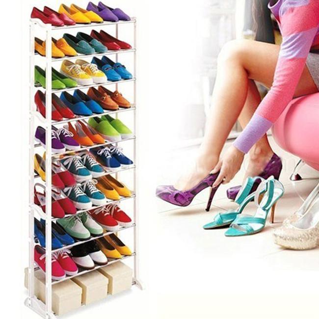 Kệ Để Giầy 10 Tầng Cao Cấp Amazing Shoes Rack.
