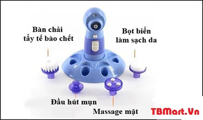 Hình Ảnh Máy Hút Mụn Mini 4 in 1 Power Perfect Pore của TB MART