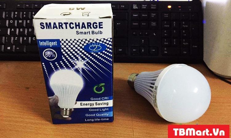 Hình Ảnh Bóng Đèn Tích Điện Thông Minh SmartCharge của TB MART.
