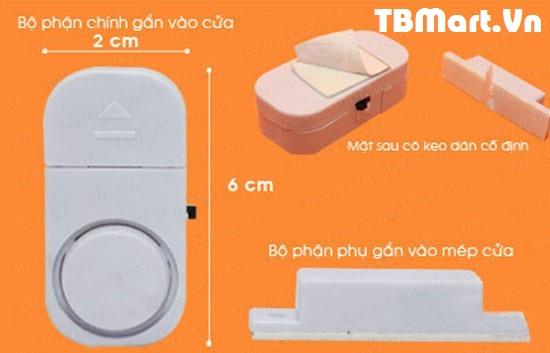 Hình Ảnh Chuông Chống Trộm Gắn Cửa Thông Minh của TB MART