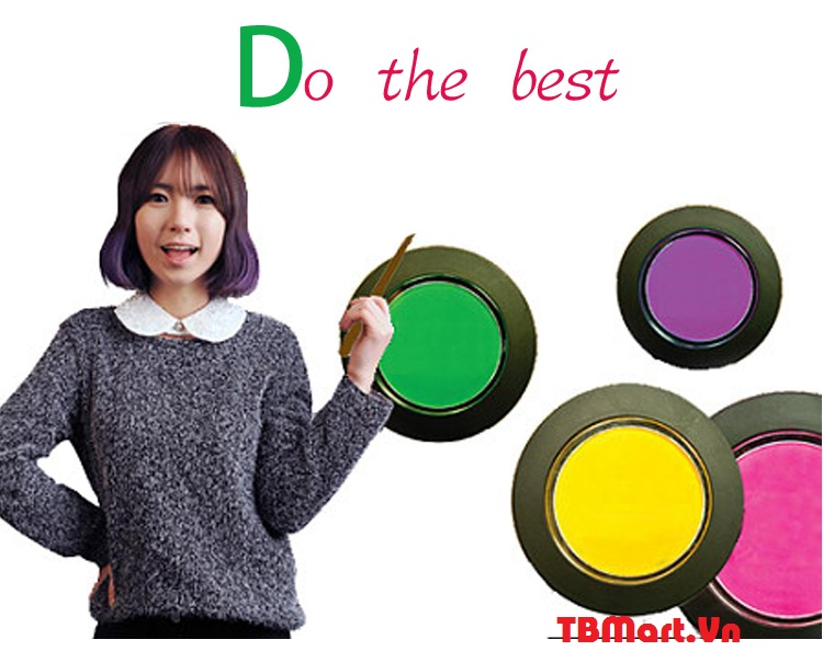 Hình Ảnh Phấn Nhuộm Tóc Tạm Thời Hair Chalk Hàn Quốc của TB MART