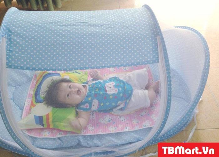 Hình Ảnh Màn Ngủ Chống Muỗi Cho Bé Happy Baby Của TB MART.