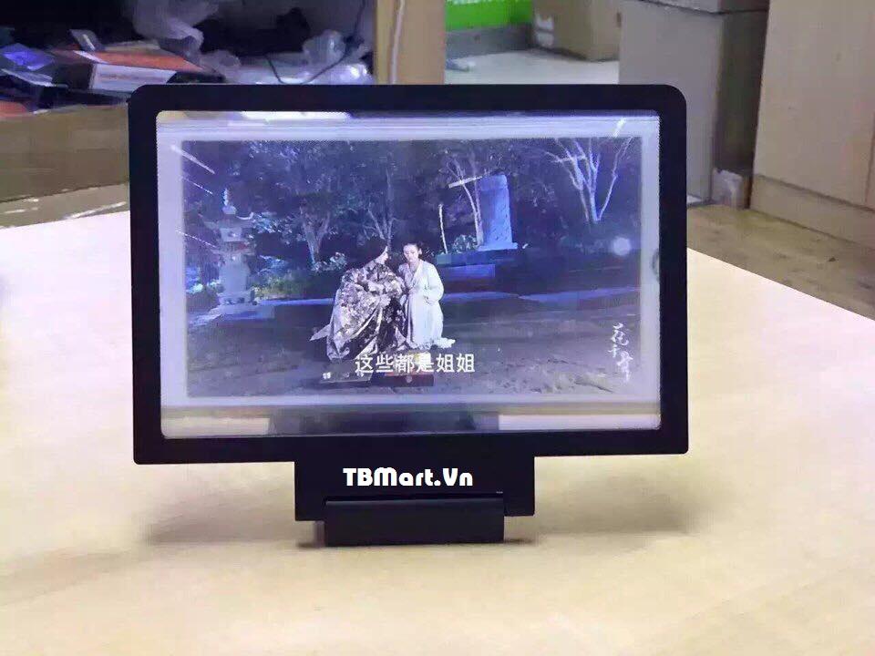 Kính Phóng To 3D Cho Điện Thoại kèm Loa của TB MART.