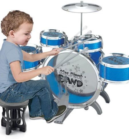 Trống Đồ Chơi Jazz Drum Cỡ Lớn cho Bé của TB MART.