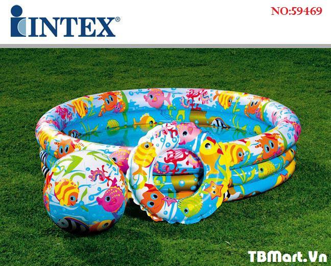 Bể Bơi 3 Chi Tiết Intex 59469 Chính Hãng 3 Tầng của TB MART