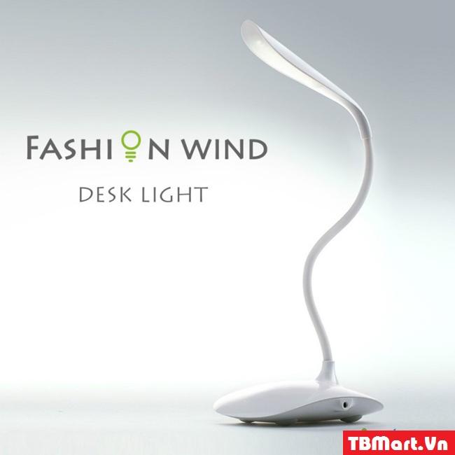 (Đèn Bàn Cảm Ứng Chống Cận Fashion Wind Desk Light)