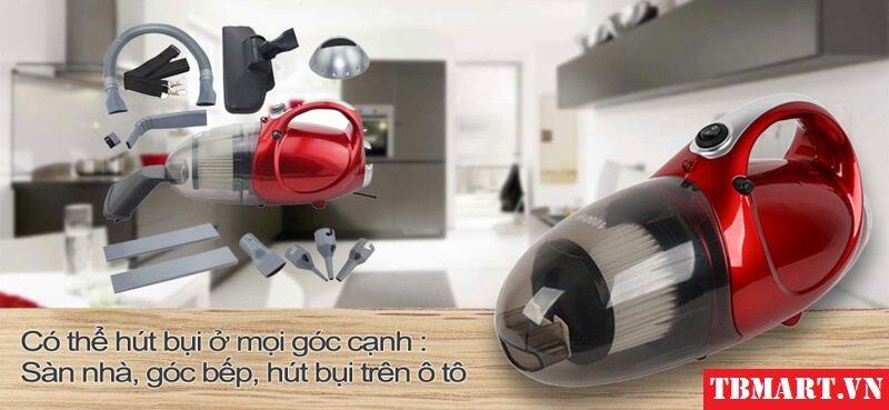 Máy Hút Bụi Mini JK-8 hai chiều Hút - Thổi rất mạnh mẽ, công suất 1000W hút sạch mọi bụi bẩn trên ô tô của bạn.