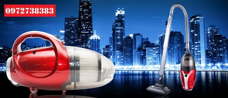 Máy Hút Bụi Mini JK-8 có đầu hút lớn chuyên dụng để hút sàn hoặc bề mặt rộng.