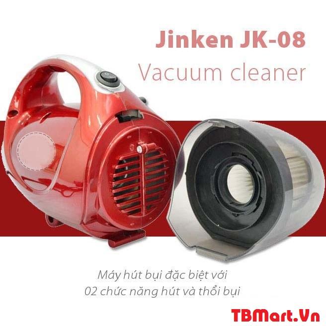 Máy Hút Bụi Mini Cầm Tay 2 Chiều Vacuum Cleaner JK-8