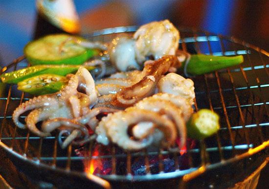 Bếp Nướng Than Hoa Portable Barbecue.