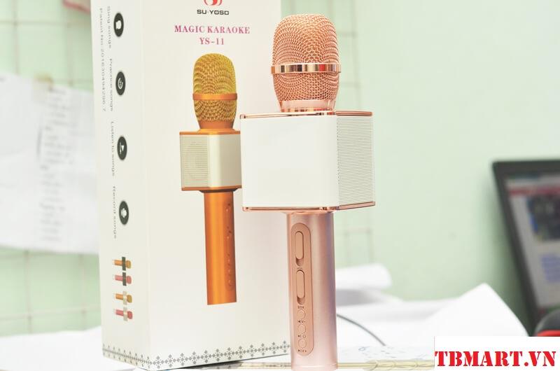 Mic Kèm Loa Karaoke Bluetooth Magic YS 11 Chính Hãng.