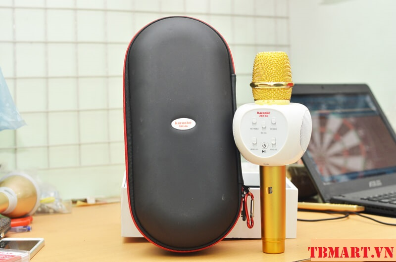 Mic Kèm Loa Karaoke Bluetooth ZBX 66