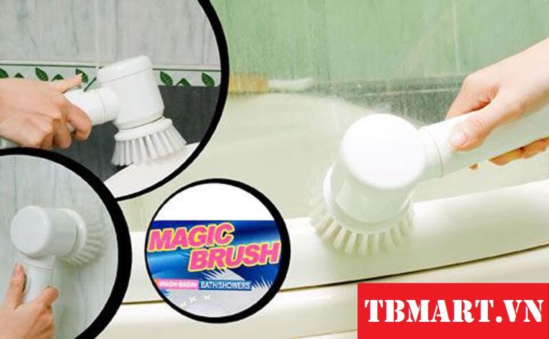 Máy Làm Sạch Magic Brush - Máy đánh sạch 5 trong 1 chính hãng.