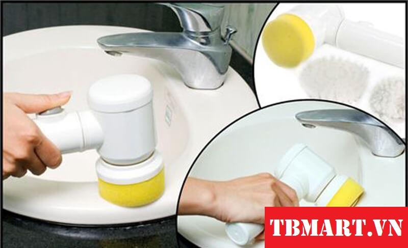 Máy Đánh Sạch Magic Brush - Máy Làm Sạch Mini cho căn nhà sạch bóng.